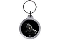 ResKey Schlüsselanhänger rund Hund beidseitig...