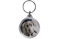 ResKey Schlüsselanhänger rund Hund Labrador...