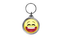 ResKey Schlüsselanhänger rund Emoji Emoticon...