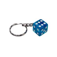 Würfel Schlüsselanhänger Transparent...
