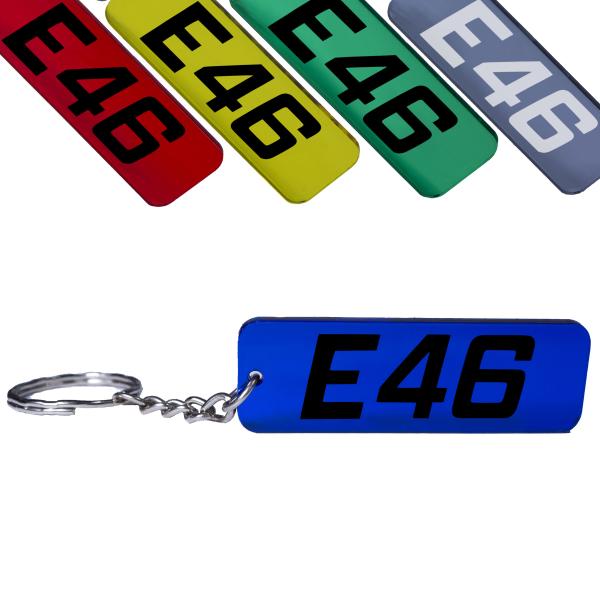 BMW E46 3er Schlüsselanhänger 316 318 320 323 325 328 330 335 M3 Tuning