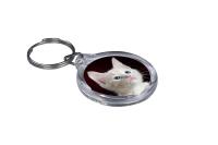 ResKey Schlüsselanhänger rund Katze Babykatze...