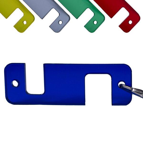 Universal Handyhalter Schlüsselanhänger Handy Halterung Smartphone farbig
