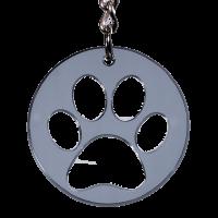 Hunde Schlüsselanhänger Pfote Hundepfote...