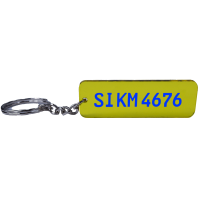 KFZ Kennzeichen Schlüsselanhänger Nummernschild...