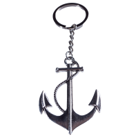Anker Schlüsselanhänger silber aus Metall...