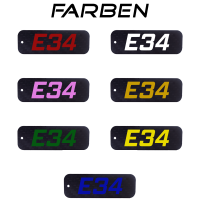 Carbon BMW E34 5er Schlüsselanhänger 520 525 528 530 535 540 M5 Tuning