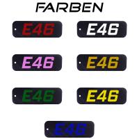 Carbon BMW E46 3er Schlüsselanhänger 316 318 320 323 325 328 330 335 M3 Tuning