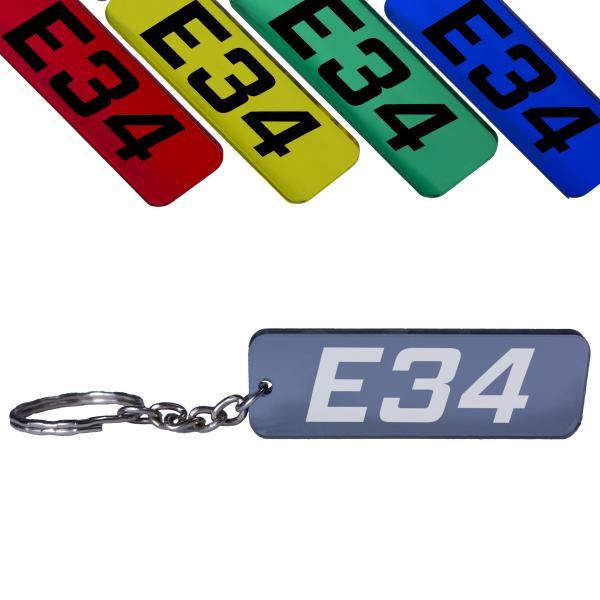 BMW E34 5er Schlüsselanhänger 520 523 525 528 530 535 540 M5 Tuning