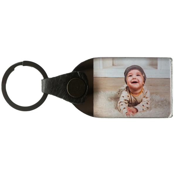 Foto Schlüsselanhänger 4:3 personalisiert individuell mit Wunschfoto Wunschbild oder Text Geschenk Geschenkidee