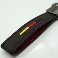 Leder Schlüsselanhänger Deutschland mit...