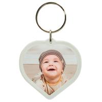 Herz Foto Schlüsselanhänger personalisiert...