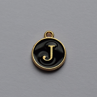 Buchstabe schwarz J