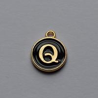 Buchstabe schwarz Q