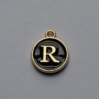 Buchstabe schwarz R