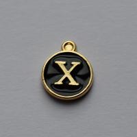 Buchstabe schwarz X