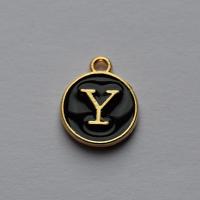 Buchstabe schwarz Y