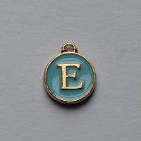 Buchstabe Blau E