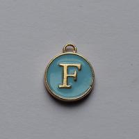 Buchstabe Blau F