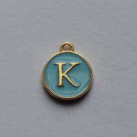 Buchstabe Blau K