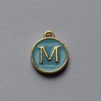 Buchstabe Blau M