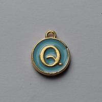 Buchstabe Blau Q