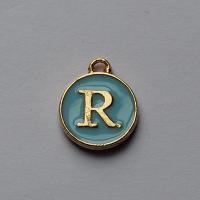Buchstabe Blau R