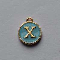 Buchstabe Blau X