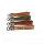 Leder Schlüsselanhänger mit Name Wunschname personalisiert individuell farbig Gravur