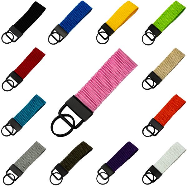 Reskey Gurtband Schlüsselanhänger farbig